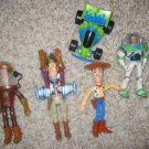 Disney  Toy Story Toys Lot of 5