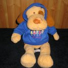 Mary Meyer Girl Scouts Plush Tan and Brown Floppy Dog with Hoodie Girl Scout Daisy