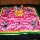 Baby Gund Security Blanket Lovey named Blush Colorful Plush Giggles