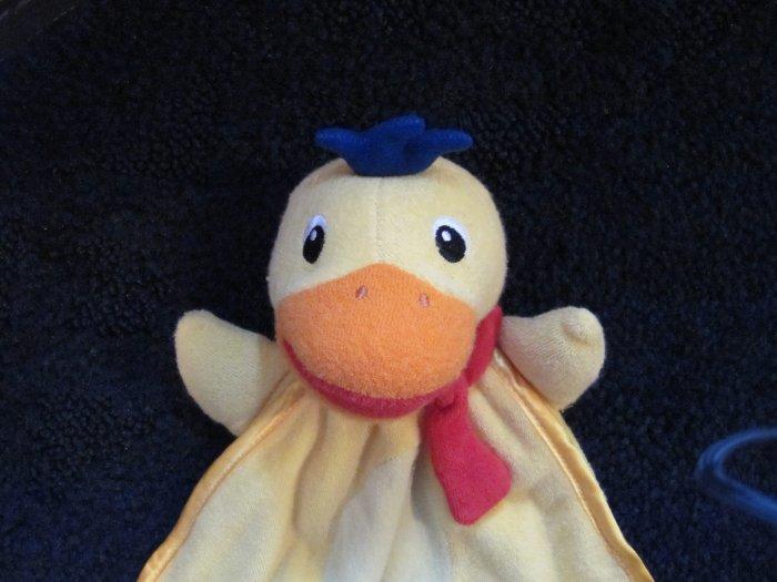 Baby Einstein yellow Duck Security Blanket Lovey