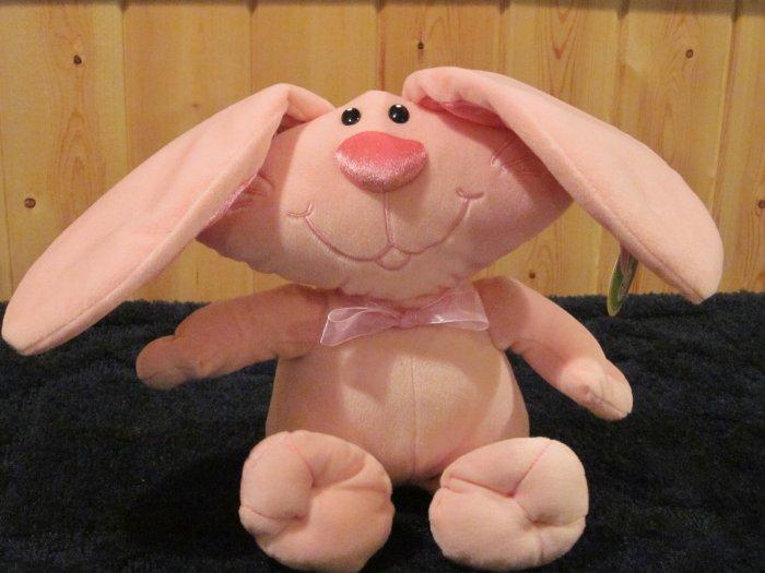Chirisha Playful Plush Pink Bunny rabbit Oval head