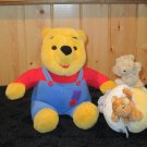 Disney Winnie The Pooh Talking Plush Bear Plus Classic Pooh Soft Ball with all the characters