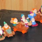 Disney Snow White and the Seven Dwarfs Figures  Lot of 7