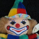 Plushland Clown Blue Green Red and yellow Colorful Plush Toy