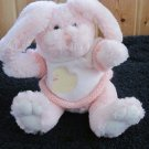Animal Adventure Pink Plush Bunny Rabbit wearing sweater with Duck on it