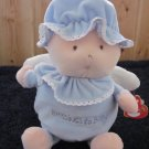 Baby TY Blessings  Baby Blue Doll Wings Love to Baby