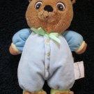 Garanimals by Prestige Toy Co Plush Blue Bear Doll with Bear Slippers