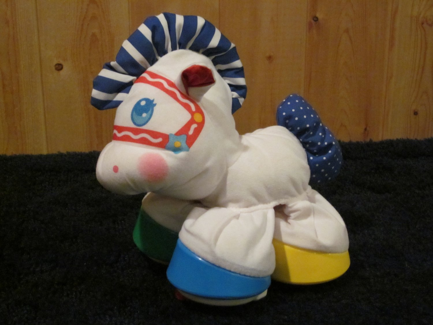 Fisher Price Plush Horse Activity Toy Pony