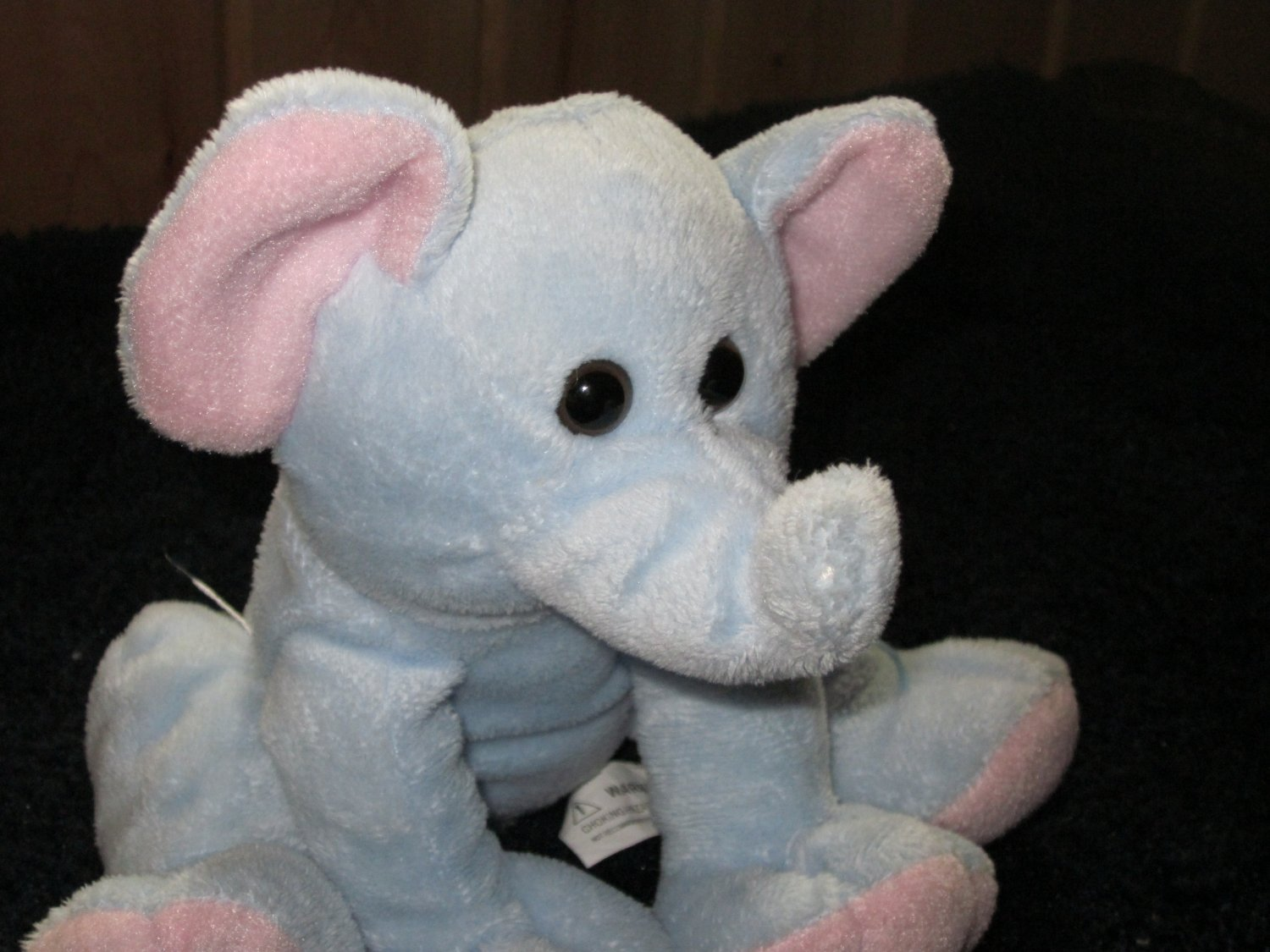 Best Made Toys Plush Blue and pink Elephant