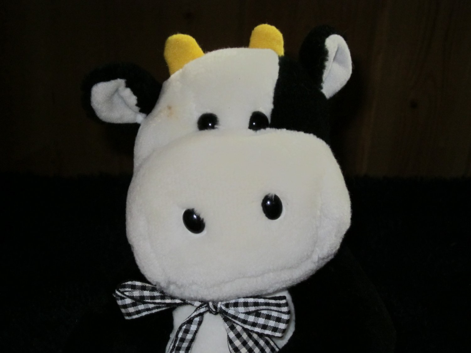Carters Plush Cow that Moos Animal sounds by Prestige Toy Co