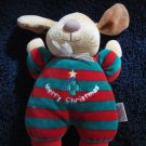 Soft Dreams Merry Christmas puppy Dog Doll Plush Rattle