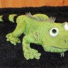 Webkinz Green Iguana Green Lizard with striped tail No Code