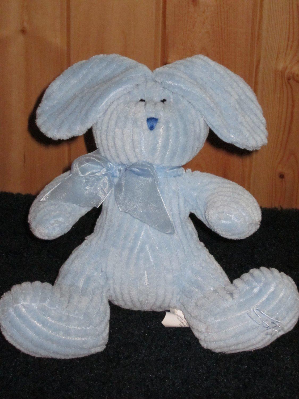 Stephan Baby Blue Plush Bunny Rabbit