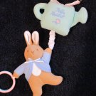 Eden Beatrix Potter Plush Peter Rabbit Musical Pull Toy Teether