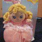 ABC Development Pink Princess Plush Doll Rattle
