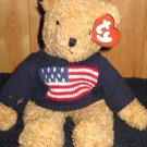 Ty Classic Plush Bear named Curly