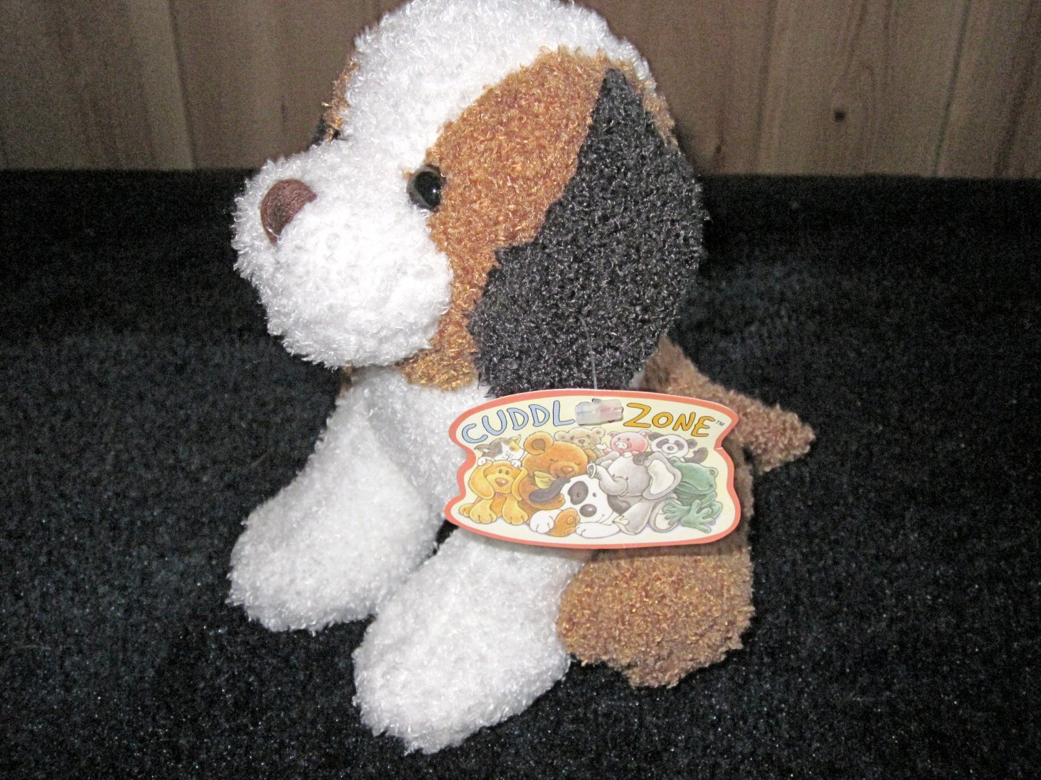 Target Brown White And Black Plush Puppy Dog From Cuddle Zone