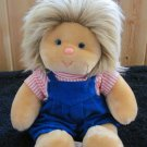 "Vintage 15"" Animal Fair Plush Doll with a head of Hair"