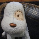 Carters Blue Puppy Dog Plaid spots patch on eye #9245