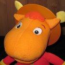 Fisher Price Backyardigans Mounty Tyrone Plush talking doll