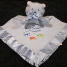 Baby Tykes blue Tiger Security Blanket Lovey Thank Heaven for Little Boys