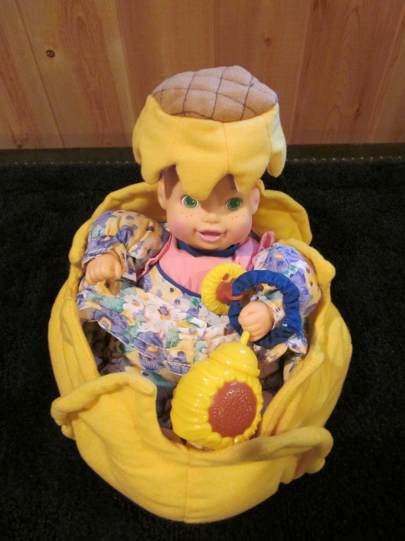 1999 Kinder Garden Babies By Marvel Sunflower Doll