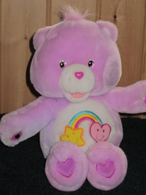 "Care Bears Singing Best Friend Bear Plush 15"""