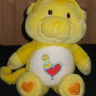 "Care Bears Cousins Playful Heart Monkey 13"" Plush Yellow"