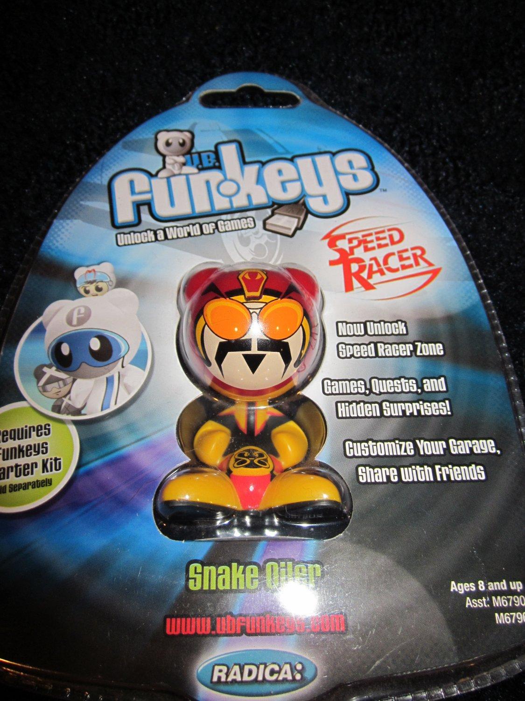 Funkeys Speed Racer Snake Oiler New