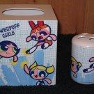 Powerpuff Girls Tissue box Holder and Toothbrush Holder