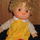 "Vintage Komfy Kid 15"" Stuffed Plush Boy Doll"