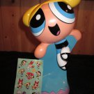 Powerpuff Girls hard plastic Figure of Bubbles