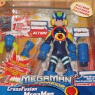 2004 Mattel Megaman NT Warrior Cross Fusion Figure New