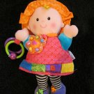 Lamaze plush Doll My Friend Emily Activity Rattle Teether entertainer