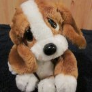 Applause Sad Sam Jr Brown and White Puppy Dog