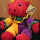 Playpets Velboa Cow in Clown Attire