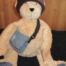 Delia's NYC Bear Retired 2002 Plush Stuffed Teddy Bear with  accents