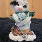 Mary's Moo Moos  257443 Ski Moo Later January Figurine