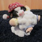 Mary's Moo Moos  372749 Cow in Snowball Mini Figurine Spcl