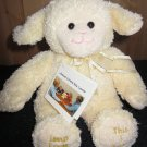 New Princess Soft Toys Jesus Loves Me Lamb Musical Plush Toy