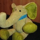 Old Navy Green Elephant Blue scarf Plush Toy