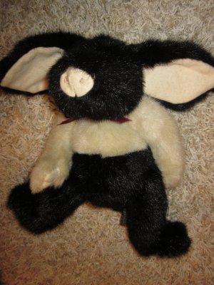 Boyds Collection Stuffed Plush Black Tan Pig