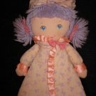 1987 AmToy Dolly Tales plush Doll that is a book too