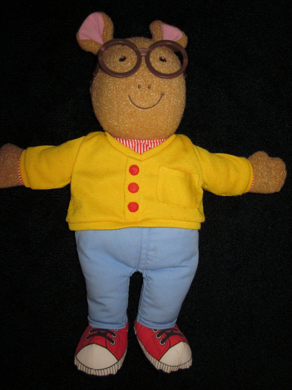 1996 Talking Arthur Plush Doll By Playskool 5834