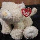 Baby TY  Plush Cream colored Kitty cat named Kutie Kat