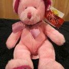Russ Berrie Plush Pink Bear Aries