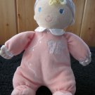 Koala Baby Plush Soft Doll Pink with My first doll and satin trim