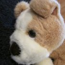 Russ Berrie Plush Bulldog or pug Named Rocky Puppy dog 3487