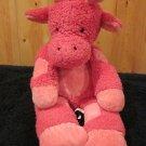 Pottery Barn Kids PBK Pink Super soft Giraffe Lovey