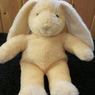 Stephan 2002 Yellow Bunny Rabbit Plush Baby Rattle